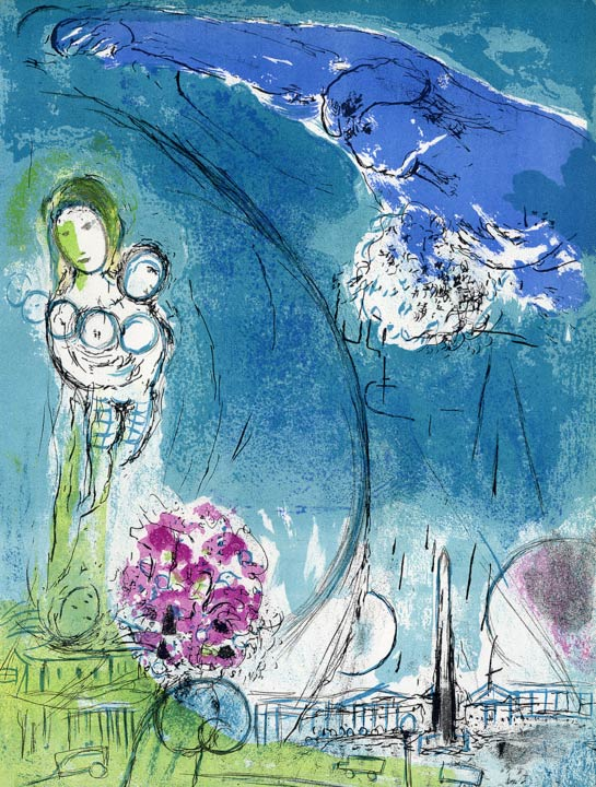 Marc Chagall - Lithographie